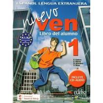 Nuevo ven - Espagnol - 1Ere année - Livre de l'élève / Libro del alumno