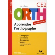 Apprendre l'orthographe - CE2 (éditon 2008)