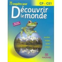 Découvrir le monde - CP, CE1 - Livre de l'élève