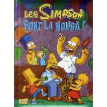 Les Simpson special fêtes T.4 - Font la nouba !