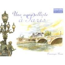 Une Aquarelliste A Paris