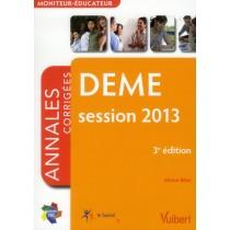 DEME - Annales corrigées (édition 2013)