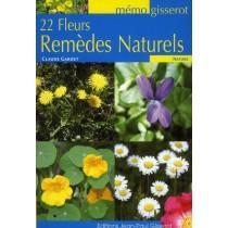22 Fleurs remèdes naturels