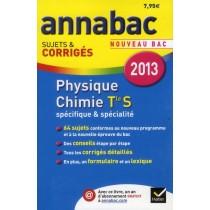 Physique-chimie - Terminale S - Spécifique et spécialité (édition 2013)