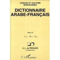 Dictionnaire arabe français T.11