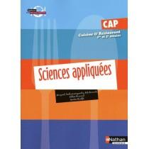 CAP cuisine et restaurant - 1Ere et 2ème année - Sciences appliquées
