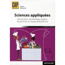 Sciences appliquées - Alimentatio n/ Microbiologie/Hygiène/Equipements/Risques professionnels - CAP cuisine restaurant - Manuel