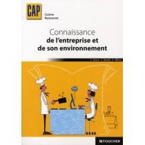 Connaissance de l'entreprise et de son environnement - CAP cuisine resturant - Manuel