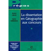 La dissertation en géographie aux concours