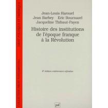 Histoire Des Institutions - 9E Edition