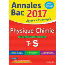 2017 - Physique-chimie - Terminale S