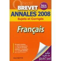 Français - Annales 2008 sujets et corrigés