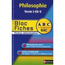 Philosophie - Terminale L/ ES/S - Bloc fiches