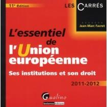 L'essentiel de l'Union européenne (11e édition)