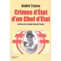 Crimes D'Etat D'Un Chef D'Etat