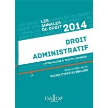 Droit administratif (édition 2014)