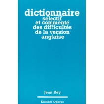 Dictionnaire Selectif Version Ang