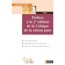 Preface A La 2e Edition De La Critique De La Raison Pure