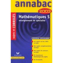 Annabac - Mathematiques - Terminale S - Enseignement De Specialite - Sujets Et Corriges