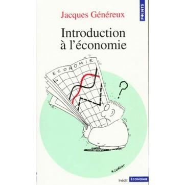 Introduction A L'Economie