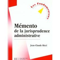 Memento De La Jurisprudence Du Droit Administratif - Livre De L'Eleve - Edition 2000