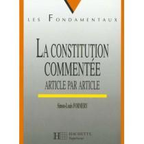 La Constitution Commentee Article Par Article