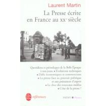 La Presse Ecrite En France Au 20eme Siecle