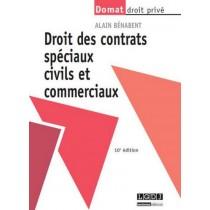 Les contrats spéciaux civils et commerciaux (10e édition)