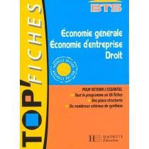 Bts - Economie Generale Economie D'Entreprise Droit