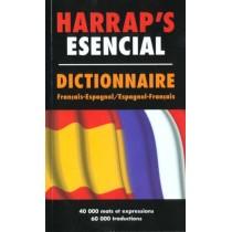 Harrap'S Esencial : Dictionnaire Francais-Espagnol , Espagnol-Francais