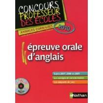 Epreuve orale d'anglais - CRPE (édition 2010)