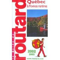 Quebec Et Provinces Maritimes - Edition 2002-2003