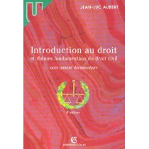 Introduction Au Droit Et Themes Fondamentaux Du Droit Civil - 8E Edition