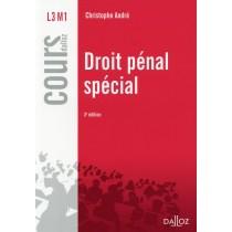 Droit pénal spécial (3e édition)