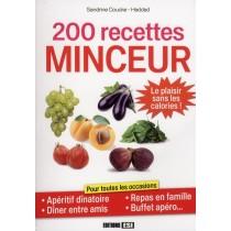 200 Recettes minceur - Le plaisir sans les calories !