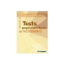 Tests psychotechniques de recrutement (3e édition)