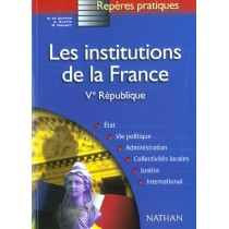 Les Institutions De La France - Ve Republique