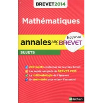 Annales Brevet 2014 Maths Non