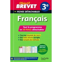 Français - 3Eme - Fiches détachables