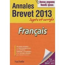 Français - Sujets et corrigés - Brevet 2013