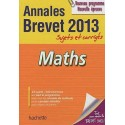 Mathématiques - Sujets et corrigés - Brevet 2013