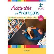 Activités de français - 1Ere bac pro - Livre de l'élève