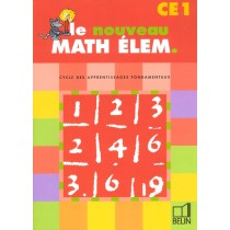 Le Nouveau Math Elem Ce1 2000 Eleve