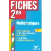 Fiches 2nde, mathématiques