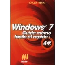 Windows 7 - Guide mémo facile et rapide !