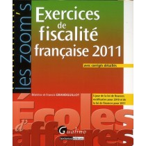 Fiscalité française - Exercices et corrigés (5e édition)