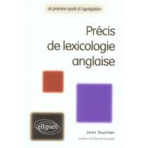 Precis De Lexicologie Anglaise Du Premier Cycle A L'Agregation