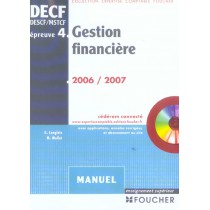 Decf, Descf, Mstcf, Epreuve 4 Gestion Financiere 2006-2007