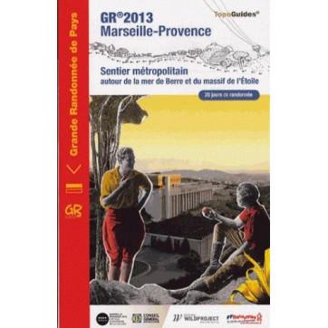 GR 2013 - Marseille-Provence - Autour de la mer de Berre et du massif de l'Etoile