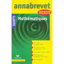 Annabrevet - Mathematiques